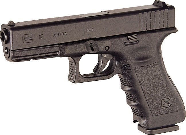 GLOCK 17 - Awesome for preppers home defense