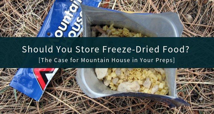 Freeze Dried Food (1)