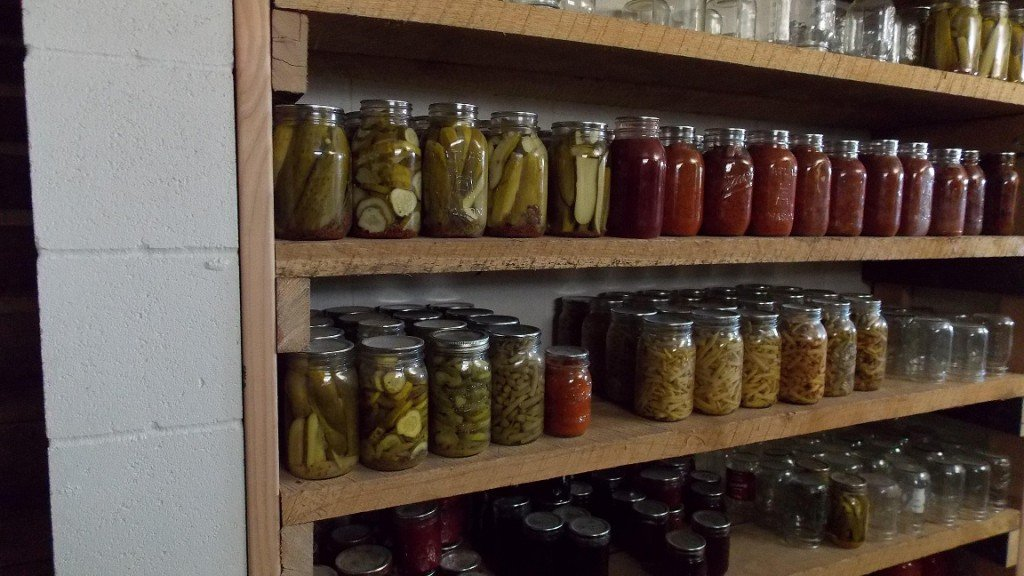 Food Storage for Off Grid Living