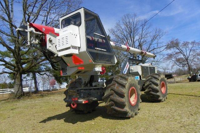 sky trim machine for mulch