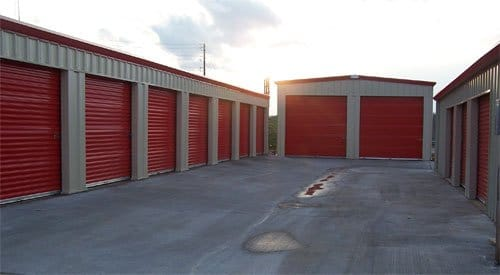 Storage Units as Backup