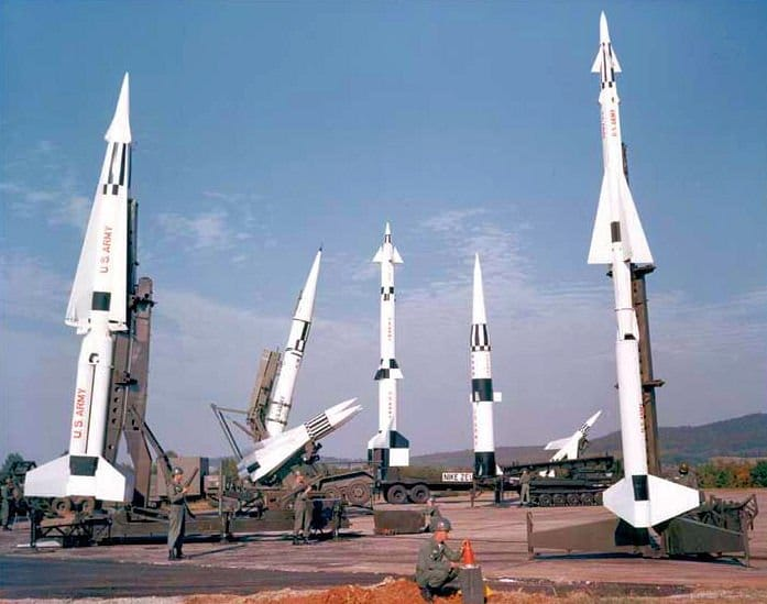 Nike Missile Family