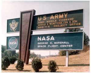 Redstone Arsenal Main Gate 1964
