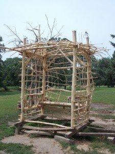 Andy Millen's New Twig Arbor