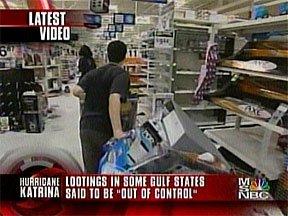 Hurricane Katrina Looting