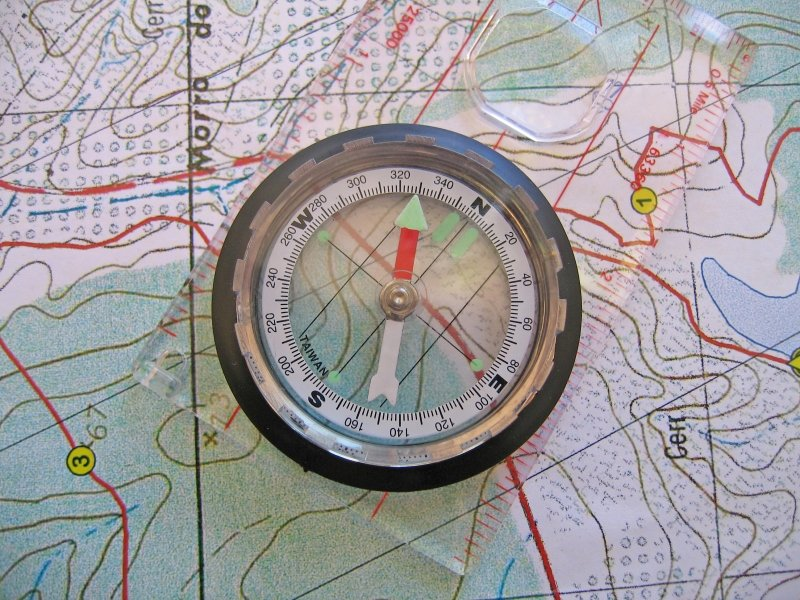 Map and Compass - Survival Tools