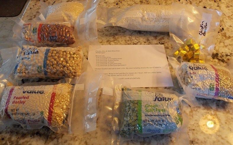 packaged food