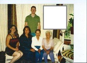 Bev, kids, mother, grandmother.