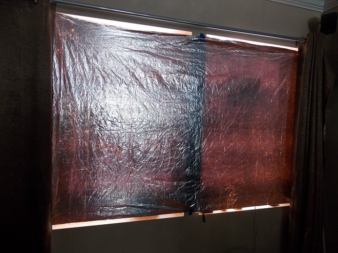 DIY Mylar Window Shades