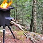 The Deadwood Rocket Stove for Cooking Indoors