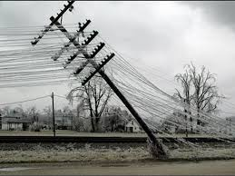 ice storm georgia power pole