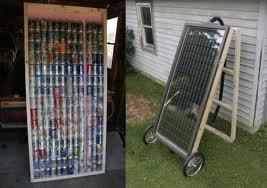 pop can solar heater