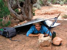 mylar shelter