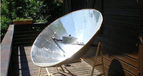 Solar Cooker Parabolic