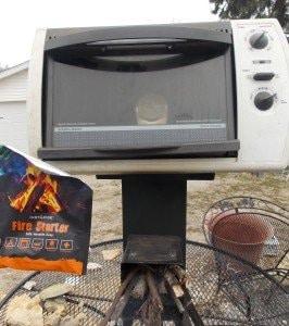 firestarter and stove