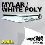 mylar white poly