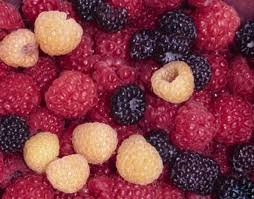 Raspberries come in different colors!