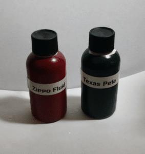 energy bottles