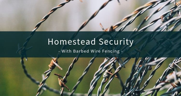 Homestead Security With Barbed Wire Fencing