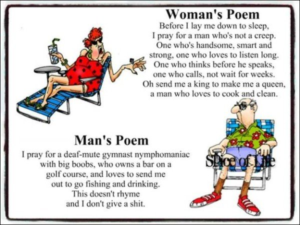 man.woman poem