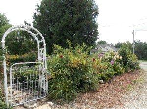 side garden gate