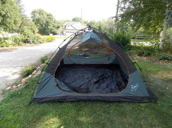 tent no rain fly
