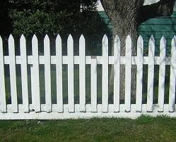 Pointed Picket Fence