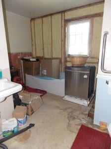 Need to completely redo this bathroom and get that new dishwasher in.