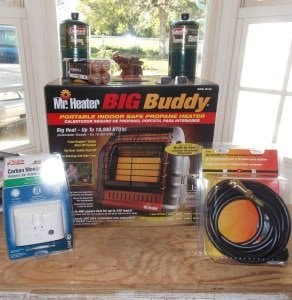And I finally bought that Big Buddy heater before the winter sets in.