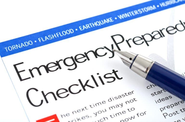 emergency, preparedness, checklist, planning, prepper
