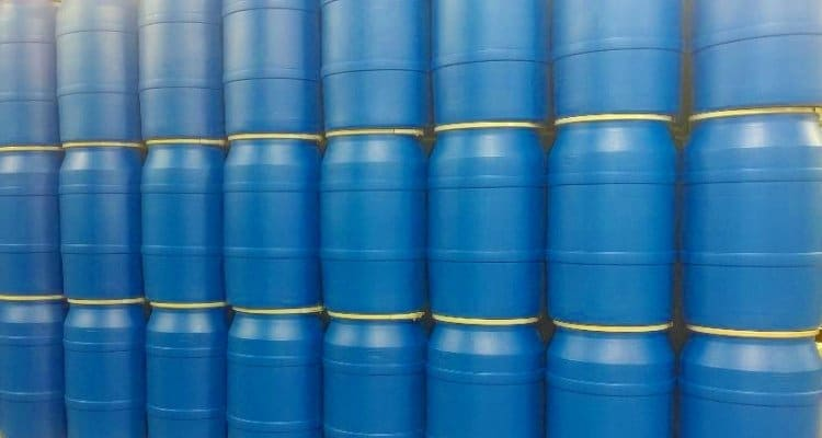55 Gallon Water Barrels for Emergency Water