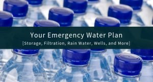 Emergency Water Plan