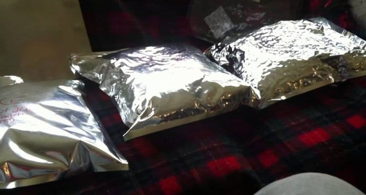 Mylar Bags for Food Storage