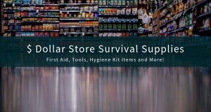 Dollar Store Survival Supplies and Gear (1)