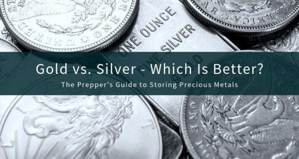 Gold and Silver Precious Metals Storage