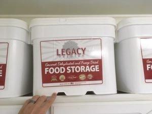 Legacy Long Term Freeze Dried Emergency Food