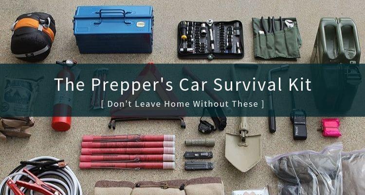 A Prepper's Car Survival Kit
