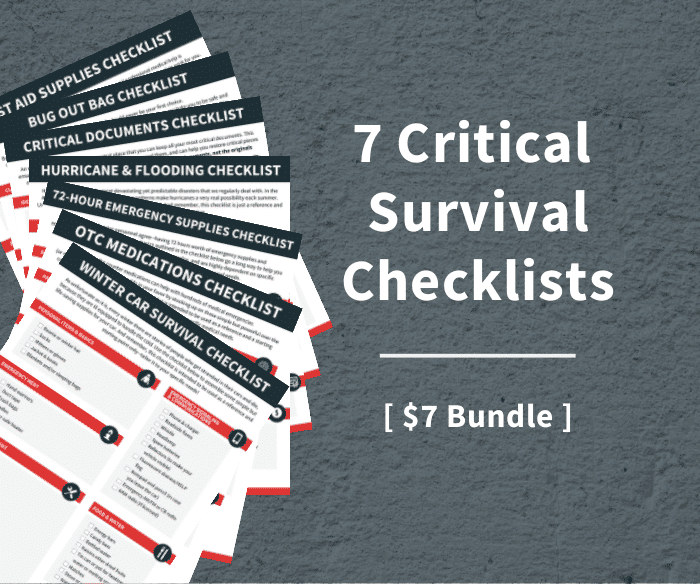 Survival Checklists Sidebar-1