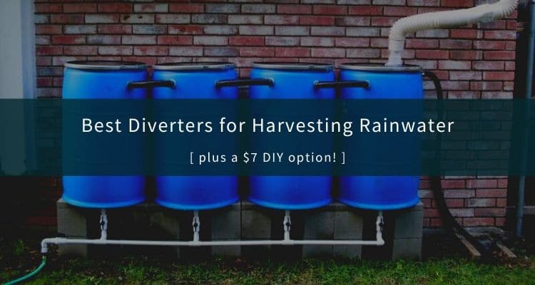 Best Downspout Diverters for Rainwater Harvesting