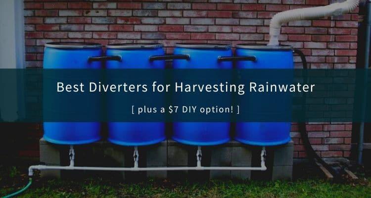 Best Downspout Diverters for Rainwater Harvesting
