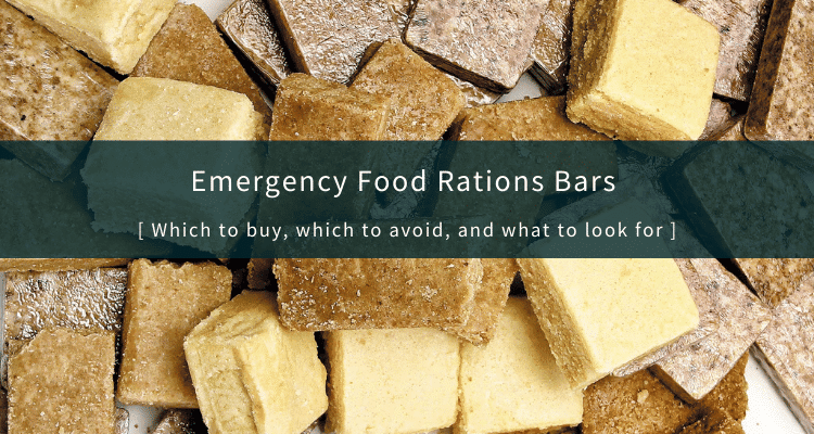 Best Emergency Food Ration Bars Review