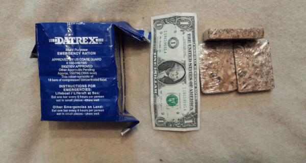 Survival Ration Blocks are Compact and Calorie Dense - Best Emergency Food Bars