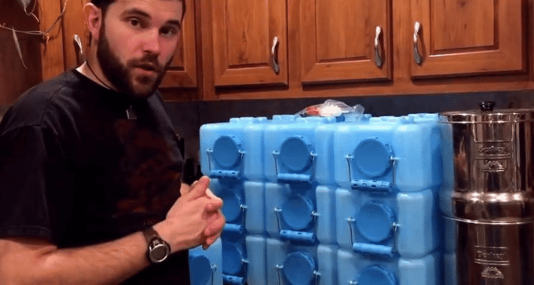 Water Bricks for Water Storage