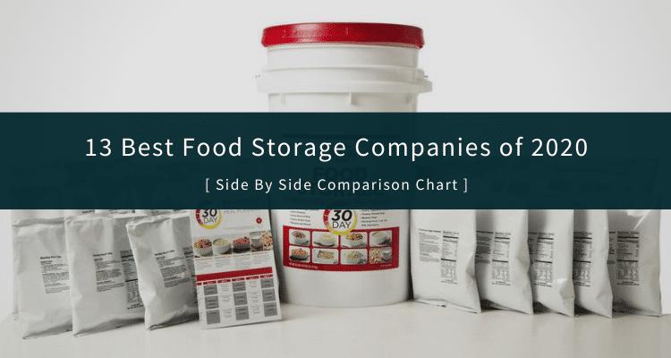 Best Survival Food Companies
