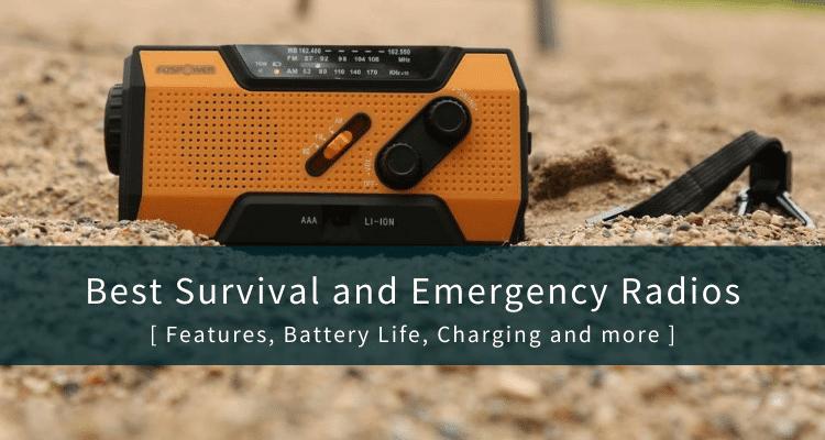 Best Survival Radios for Emergencies