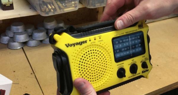 Kaito Voyager Survival Radio