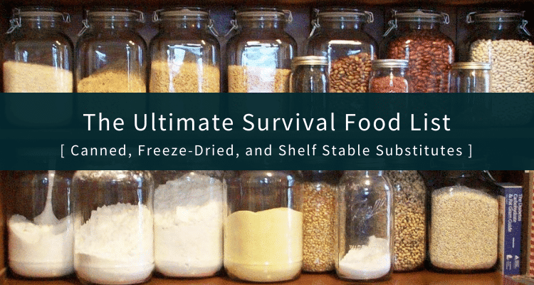 Survival Food List
