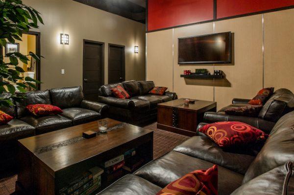 Vivos Indiana Lounge Area Bunker