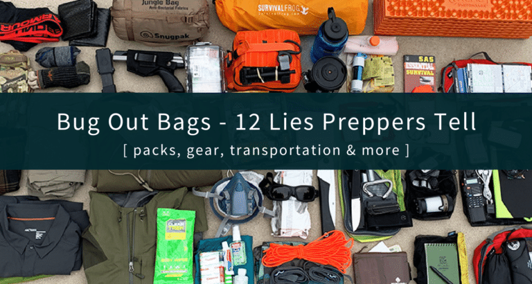 REAL Bug Out Bags
